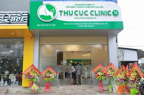 Thu Cúc Clinics là một trong những spa trị mụn tại Nghệ An uy tín, chất lượng