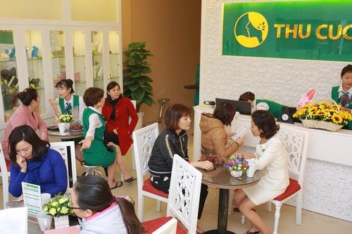 Dịch vụ trị mụn tại Thu Cúc Clinic Nghệ An nhận được quan tâm của đông đảo khách hàng