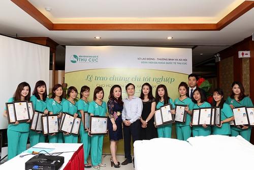 Học viên được cấp chứng chỉ tốt nghiệp nghiệp do Sở Lao động, Thương binh và Xã hội.