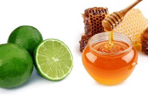 Kiên trì đắp mặt nạ bằng chanh và mật ong cũng hỗ trợ trị mụn trên mặt