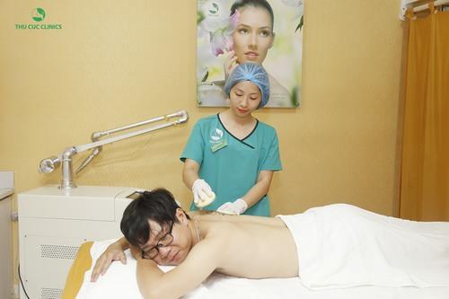 Tất cả các bước trong quy trình xóa xăm ở Thu Cúc Clinics đều được thực hiện bài bản theo quy trình đạt chuẩn của Bộ Y tế