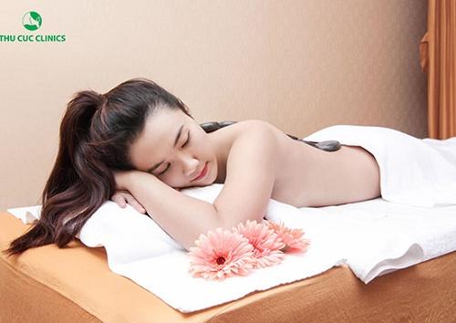 Thu Cúc Clinics áp dụng các giải pháptẩy da chết toàn thântoàn chuyên biệt cho từng loại da.