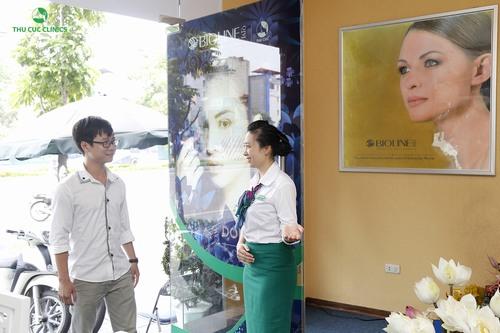 Thu Cúc Clinics là gợi ý tuyệt vời cho những khách hàng muốn xóa xăm bằng Laser Yag