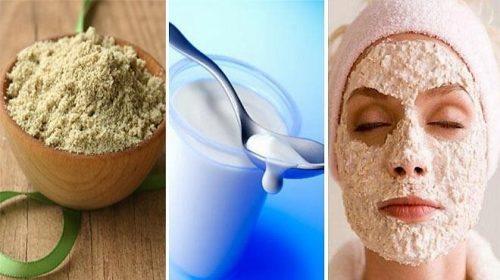 Kiên trì thực hiện cách tẩy da chết bằng cám gạo, sữa chua để đem lại hiệu quả như ý