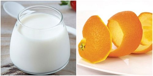 Kiên trì thực hiện cách điều trị mụn tại nhà bằng vỏ cam, sữa chua