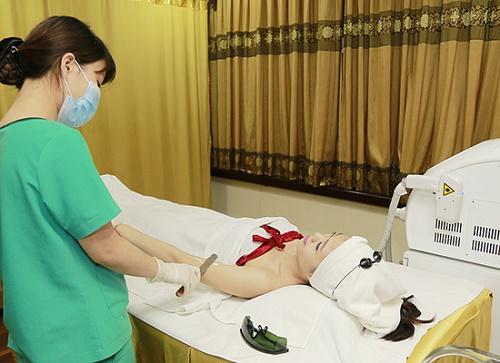 Thu Cúc Clinics đang ứng dụng phương pháptriệt lông bằng công nghệ Laser Diode hiện đại.