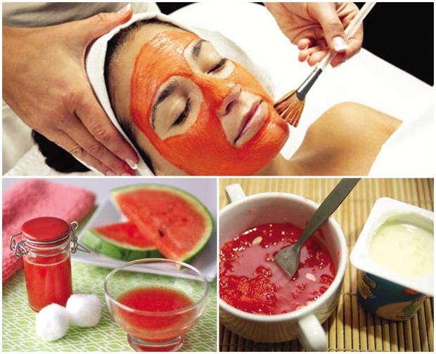 Dưa hấu chứa nhiều dưỡng chất nên ngoài công dụng trị mụn còn có thể hỗ trợ làm sáng da