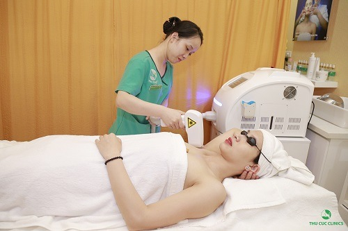 Thu Cúc Clinics đang ứng dụng phương pháp triệt lông bằng công nghệ Laser Diode hiện đại.