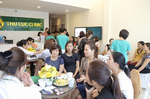 Thu Cúc Clinics là một trong những địa chỉ làm đẹp được đông đảo chị em tin chọn