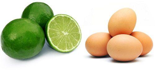 Kiên trì sử dụng chanh với trứng gà là một trong những cách trị mụn hiệu quả
