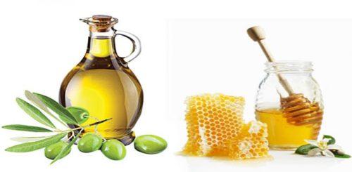 Kết hợp dầu ô liu với mật ong để trị mụn thịt