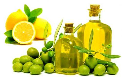 Sử dụng kết hợp giữa dầu ô liu và chanh để đem lại hiệu quả như ý