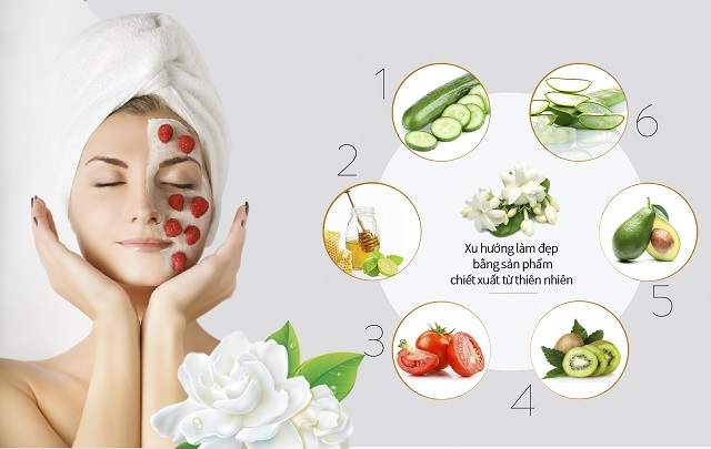 Lựa chọn những loại mỹ phẩm lành tính, có nguồn gốc từ thiên nhiên để dưỡng da, trị mụn.