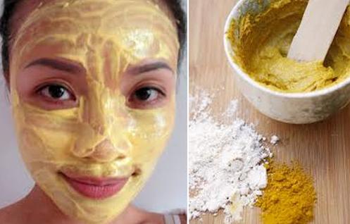 Nghệ không chỉ có tác dụng trị thâm sau mụn mà còn cung cấp dưỡng chất cho da sáng mịn