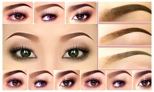 Hãy lựa chọn một dáng lông may phù hợp với khuôn mặt của bạn