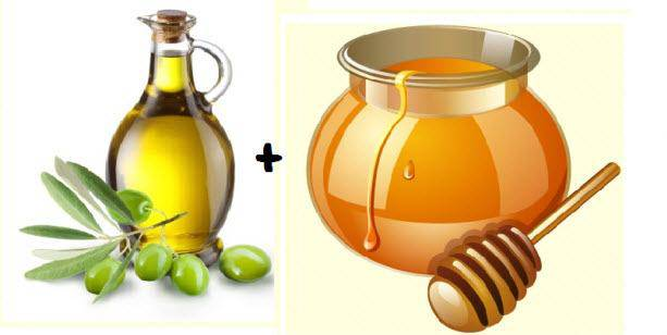 Sử dụng dầu ô liu và mật ong để kết hợp với nhau sẽ hỗ trợ chị em điều trị được các loại mụn như trứng cá, đầu đen, mụn cám, mụn cóc hiệu quả tại nhà