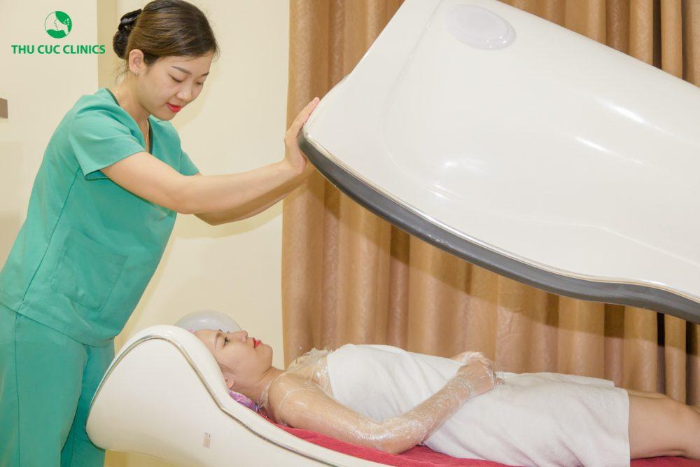 Tắm trắng an toàn, hiệu quả tại Thu Cúc Clinics