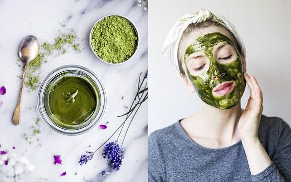 Đắp mặt nạ phục hồi da trà xanh là cách bảo vệ da hiệu quả