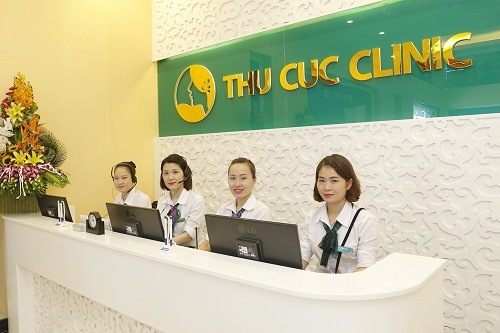 Dịch vụ chăm sóc khách hàng tại Thu Cúc Clinics luôn tận tình và chu đáo