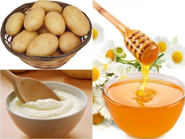 chăm sóc da từ khoai tây