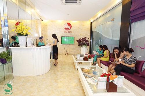 Dịch vụ tắm trắng tại Thu Cúc nhận được sự quan tâm của đông đảo khách hàng.