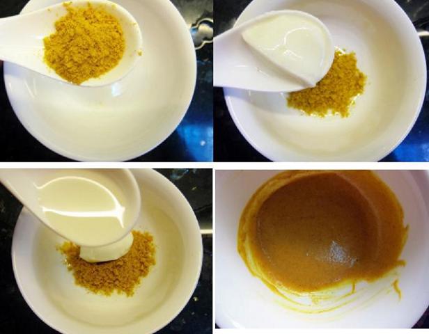 Hỗn hợp bột nghệ sữa chua có tác dụng trị mụn hiệu quả