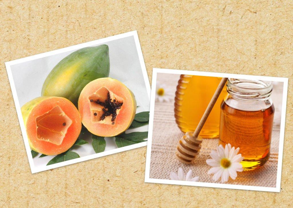 Đu đủ và mật ong là hỗn hợp tắm trắng được sử dụng rất phổ biến trong việc làm trắng da