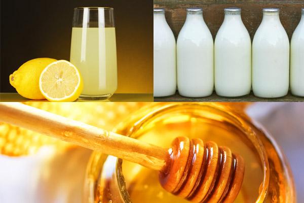 Công thức tắm trắng sữa tươi không đường, chanh và mật ong không chỉ giúp dưỡng trắng mà còn điều trị nhiều vấn đề khác của da rất công hiệu
