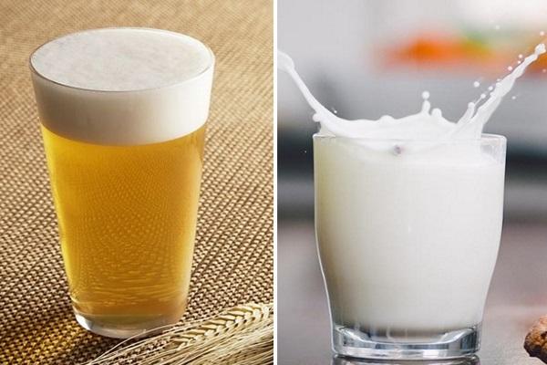Bí quyết dưỡng trắng da từ bia và sữa tươi được rất nhiều chị em tin dùng để cải thiện làn da bánh mật của mình
