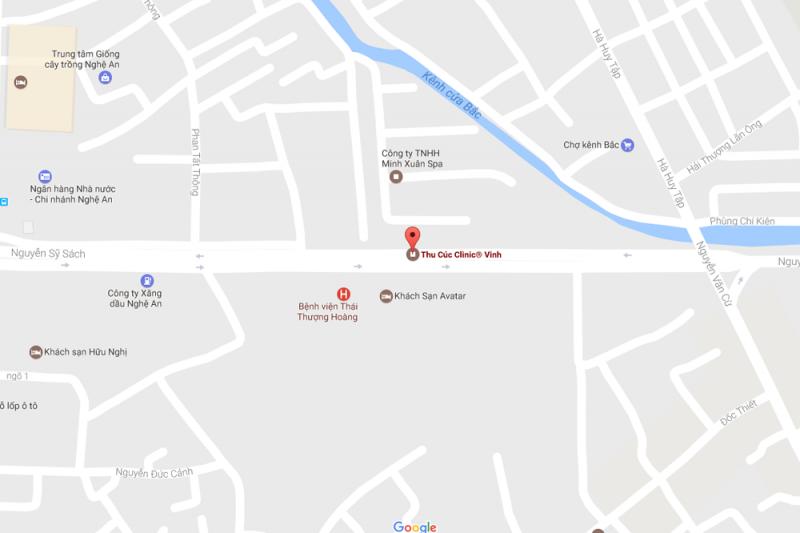 Cơ sở 15: Thu Cúc Clinic Vinh