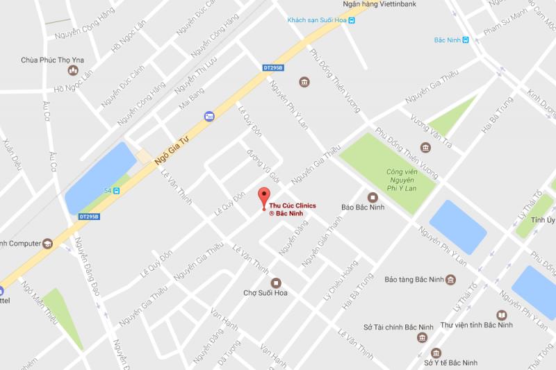 Cơ sở 6: Thu Cúc Clinic Bắc Ninh