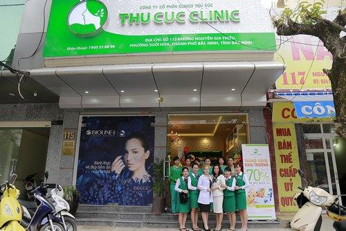 Đội ngũ chuyên gia và kỹ thuật viên giỏi tại Thu Cúc Clinic Bắc Ninh.