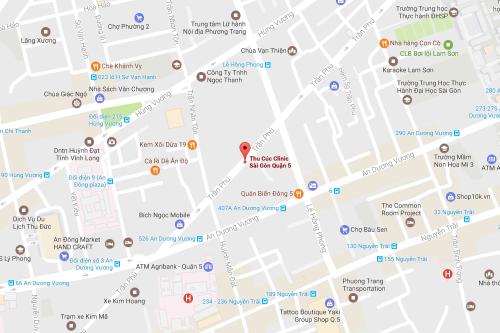 Cơ sở 11: Thu Cúc Clinic Sài Gòn Quận 5