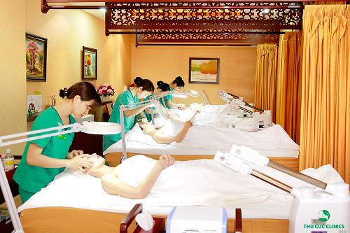 Các dịch vụ điều trị da công nghệ cao luôn HOT tại Thu Cúc Clinic Bà Triệu.