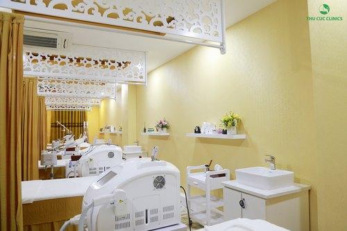 Trang thiết bị hiện đại tại Thu Cúc Clinic Đà Nẵng.