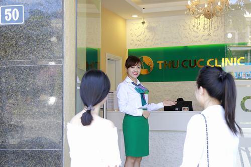 Cơ sở Thu Cúc Clinic tọa lạc tại số 50 Ngô Gia Tự, quận Long Biên, Hà Nội, đem lại sự thuận tiện cho các khách hàng khi tới làm đẹp.