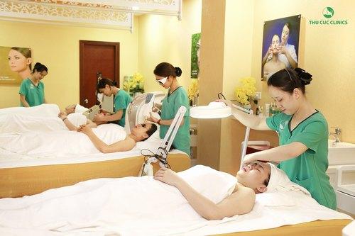 Các dịch vụ điều trị thẩm mỹ da công nghệ cao luôn thu hút sự quan tâm của đông đảo khách hàng.