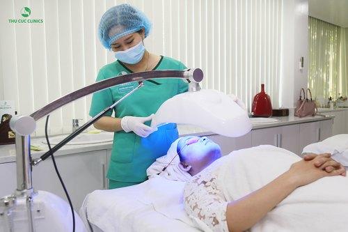điều trị mụn tại Thu Cúc