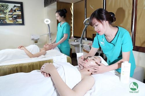 các bước chăm sóc da tại spa
