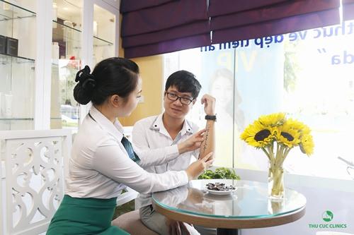 Tại Thu Cúc Clinics, xóa xăm Laser Yag được thực hiện theo quy trình đạt chuẩn của Bộ Y tế gồm các bước bài bản, khoa học.