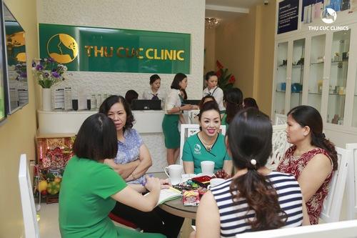 Dịch vụ trẻ hóa da tại Thu Cúc Clinics nhận được quan tâm của đông đảo chị em