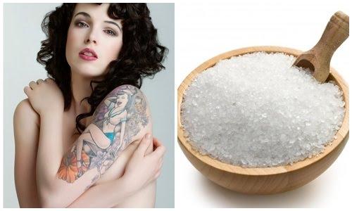 Sử dụng muối xóa hình xăm nếu không thực hiện đúng cách có thể gây ảnh hưởng và tổn thương cho làn da.