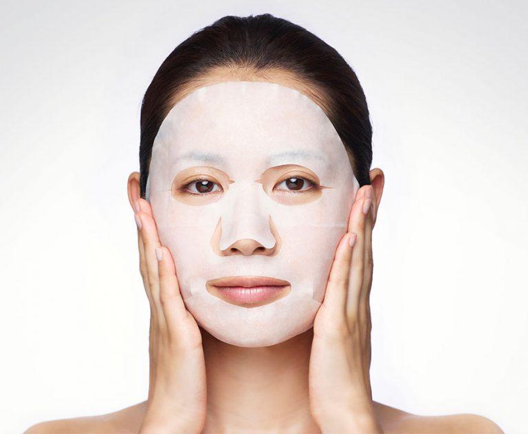 Mặt nạ giấy là bí quyết chăm sóc da của người Nhật