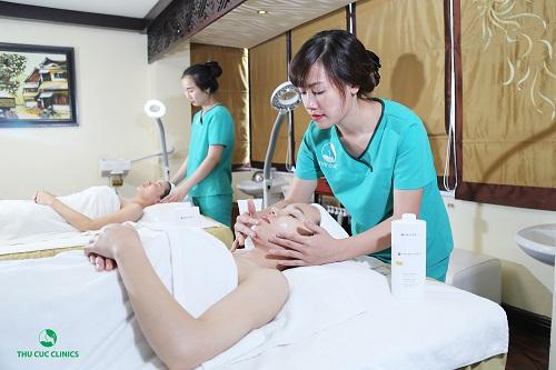Quy trình chăm sóc da với than hoạt tính tại Thu Cúc