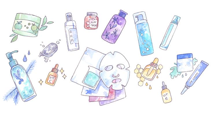 Cách chăm sóc da của người hàn được thực hiện khá đơn giản