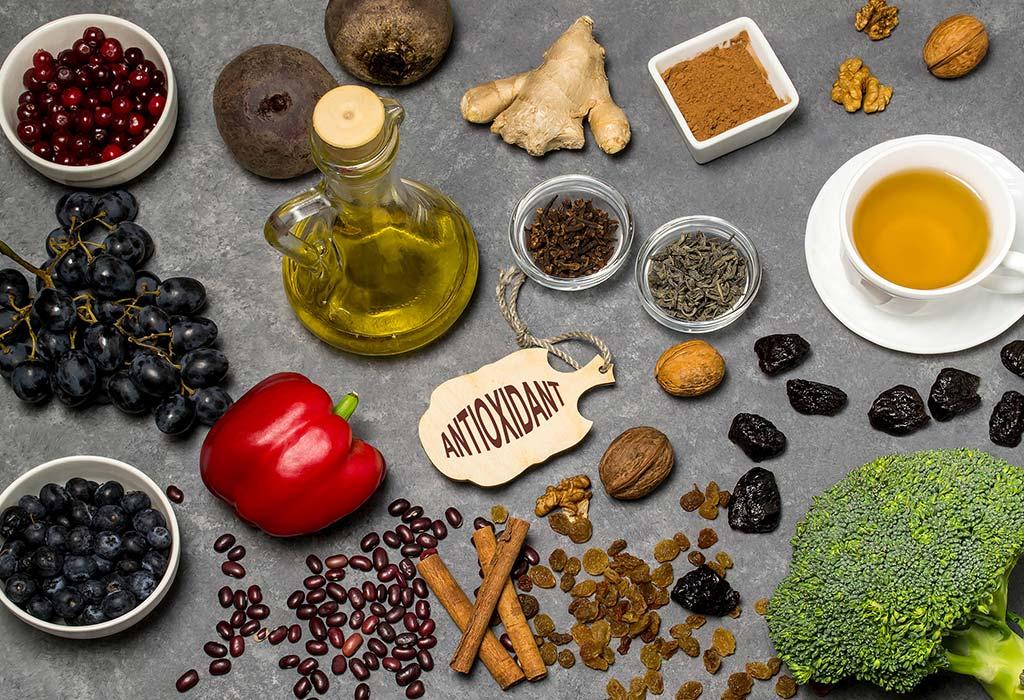 Ăn thêm nhiều thực phẩm chống oxy hóa