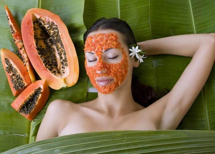 Loại bỏ da chết và làm sống lại khuôn mặt với mặt nạ đu đủ hữu cơ là cách làm đẹp da mặt từ thiên nhiên hiệu quả