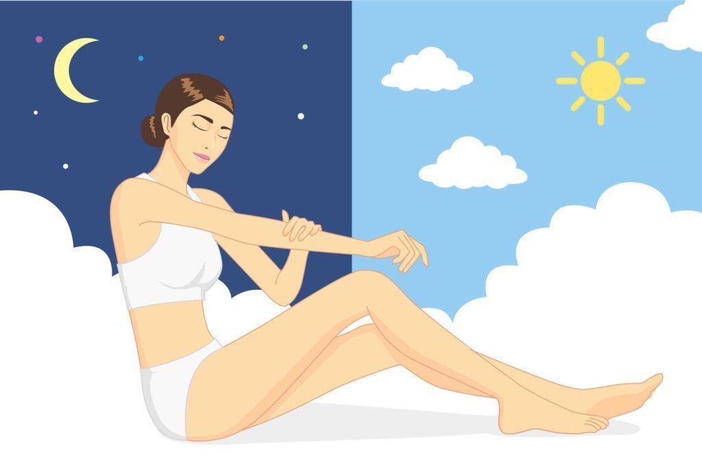 Chăm sóc da ban đêm hay ban ngày cũng đều quan trọng và cần một quy trình khoa học.