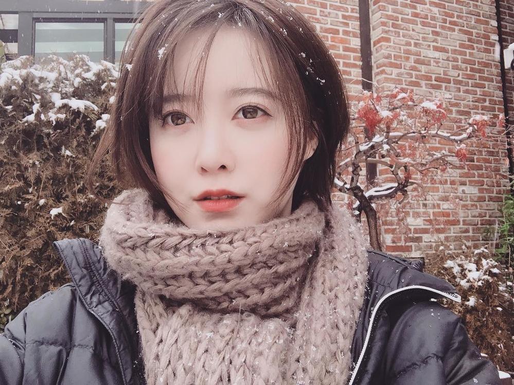 Hình ảnh đời thường nhưng vô cùng thu hút của Goo Hye Sun. Vậy bí quyết làm đẹp da của cô nàng này là gì?