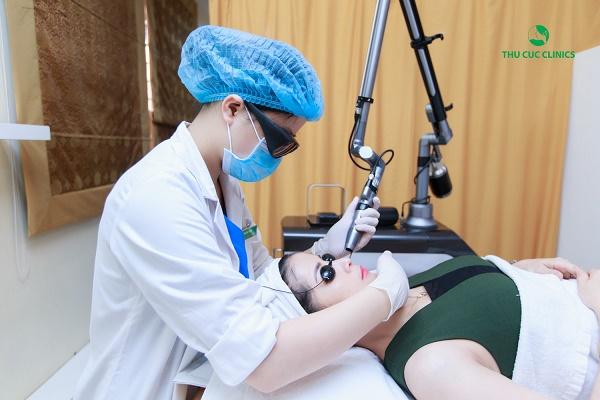 Công nghệ điều trị da bị nám tại Thu Cúc luôn được thực hiện với một hệ thống máy móc chất lượng và được kiểm chứng bởi FDA.